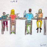 Elaborato studenti per il sole nero di Zeda